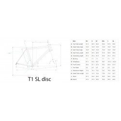 telaio LITESPEED T1SL